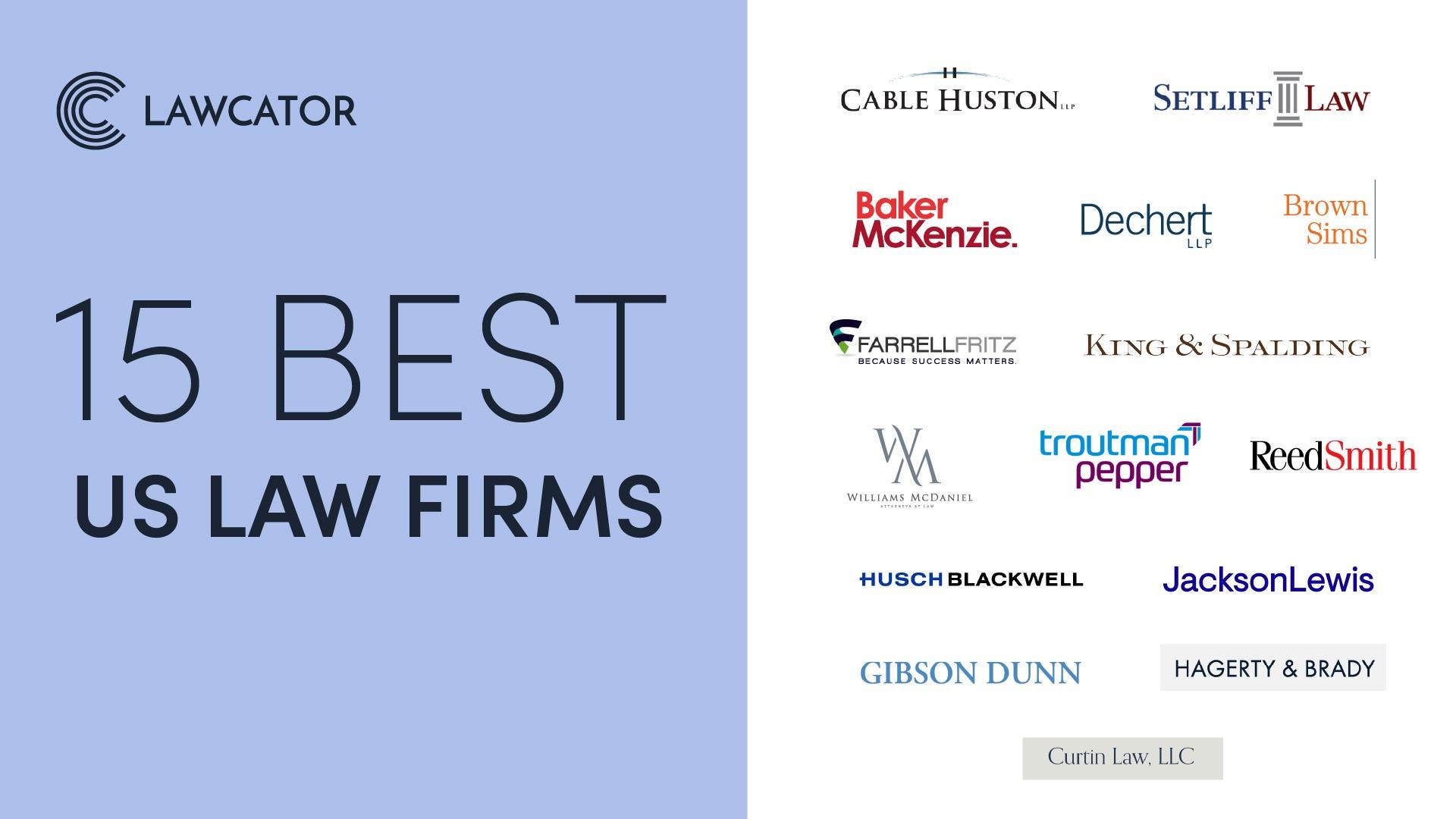 15 Best US Law Firms